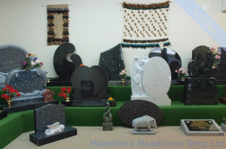 Headstone Showroom