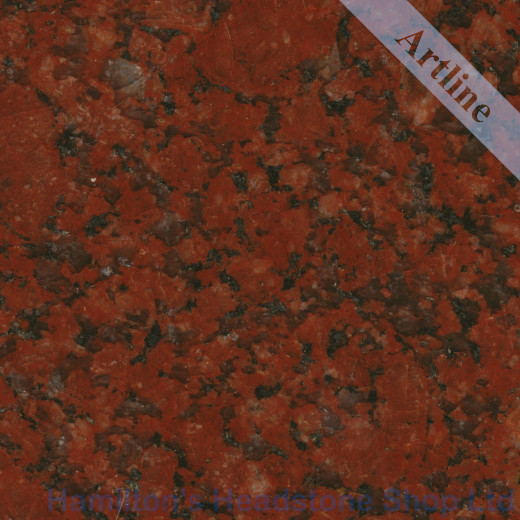 Imperial Red Granite Colour