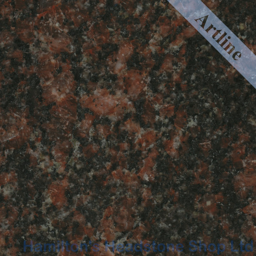 New Mahagani Granite Colour