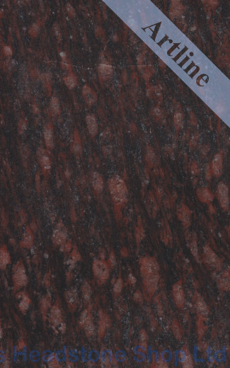 Ruby Star Cats Eye Granite Colour