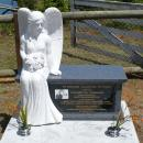 Angel Seat Headstone